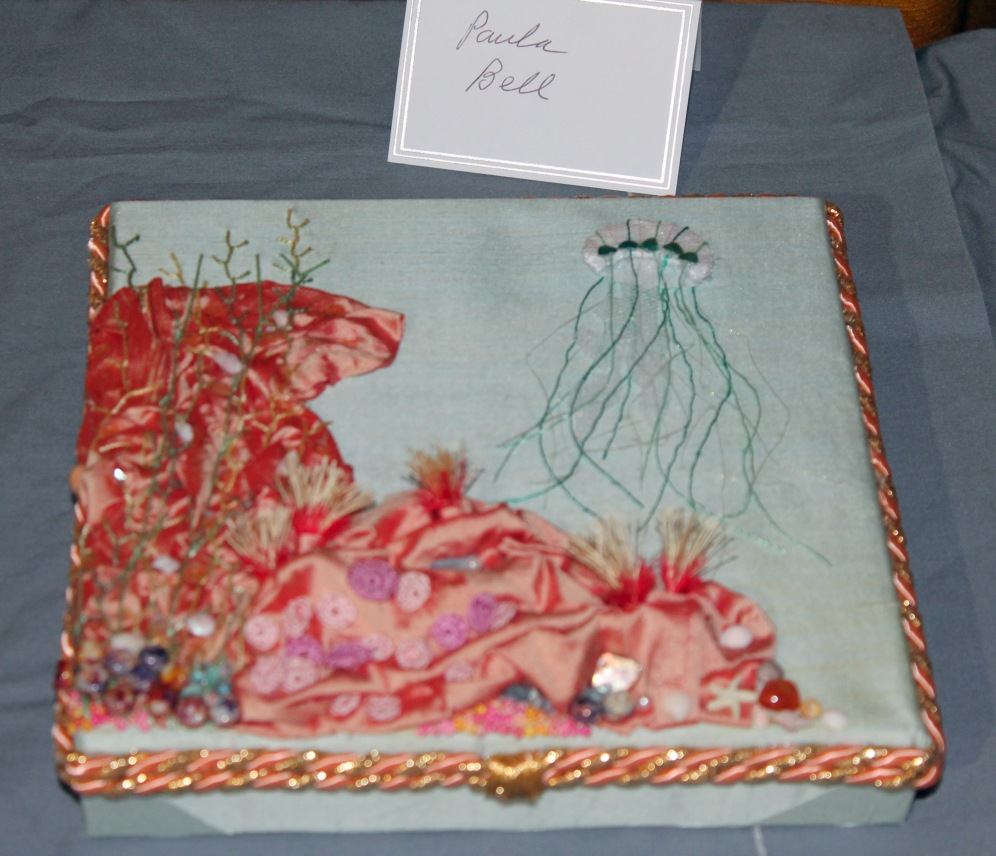A special piece by Paula for the Coral anniversary.