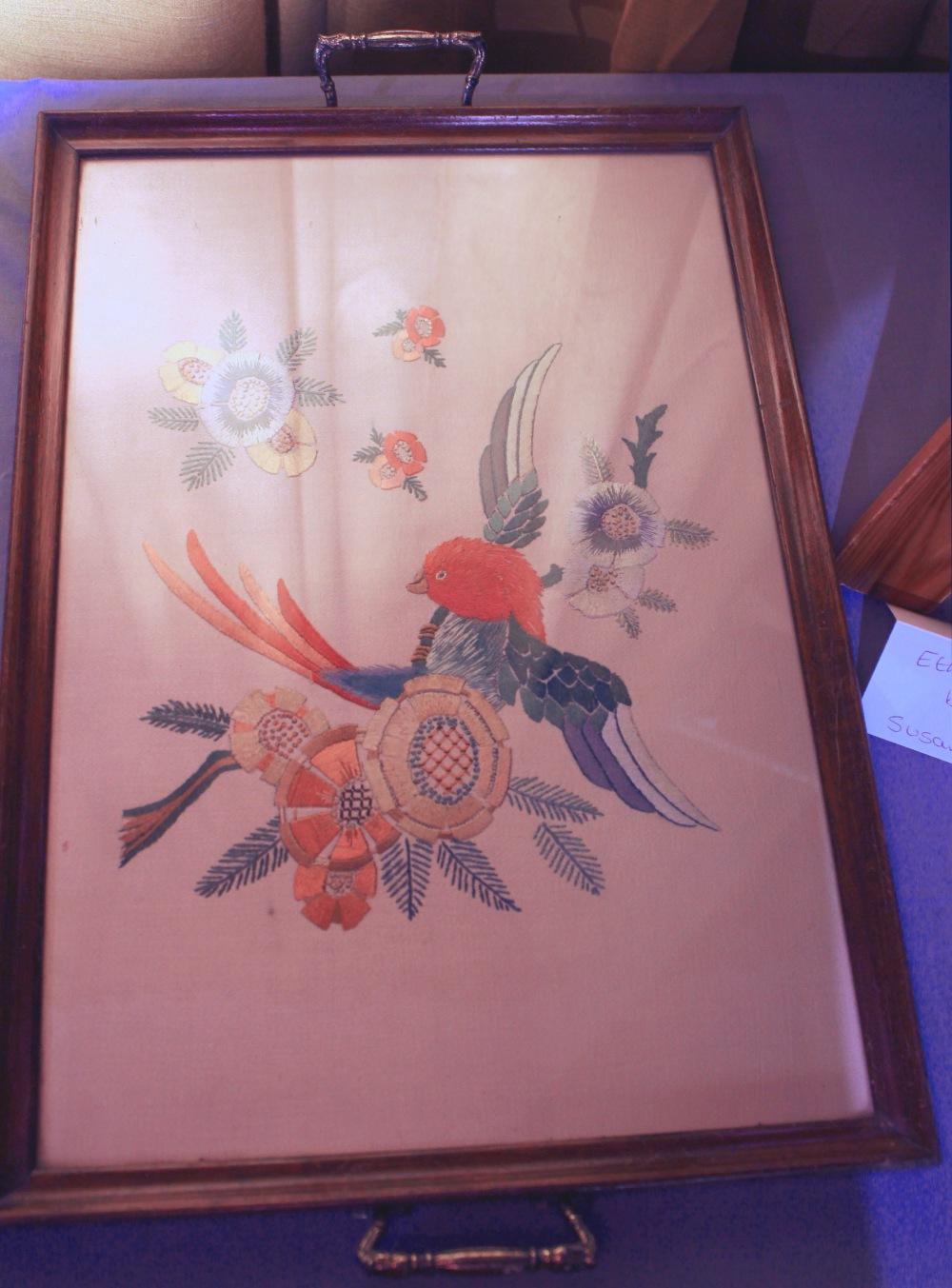 Susan Brett tray cloth