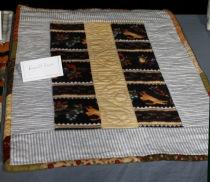 Hugette's Cat quilt