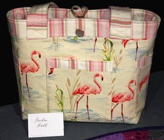 Paula 'sales table' using bargain fabrics.
